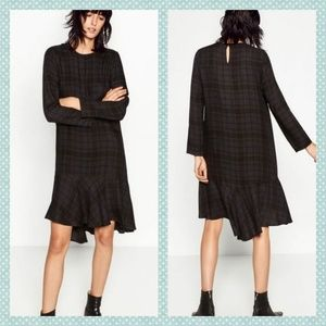 Zara Plaid Dress
